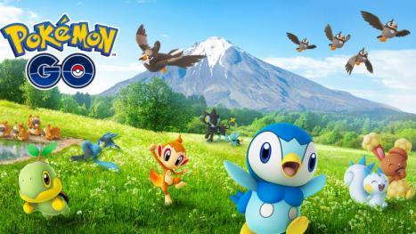 Pokémon Go  Gen-4-Pool um 14 Pokémon erweitert - insgesamt 77 Pokemon  gesichtet 3e313f35a2