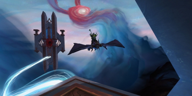 Oribos in WoW: Shadowlands