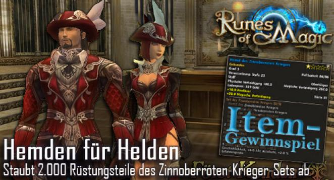 Runes of Magic - Item-Set-Gewinnspiel