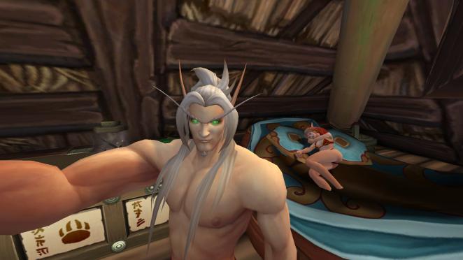 World of Warcraft nackte Haut