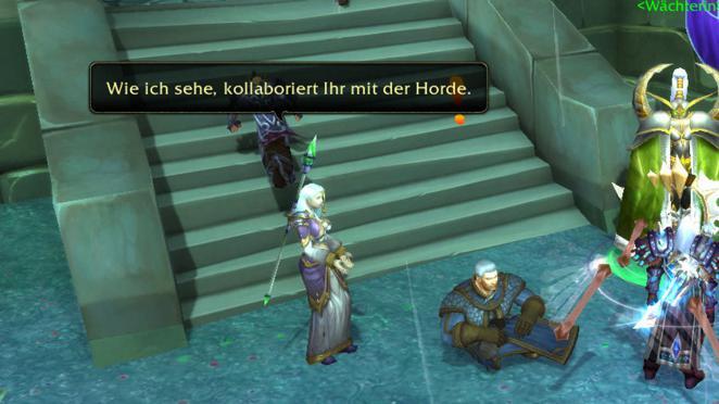 how to get to dalaran horde legion