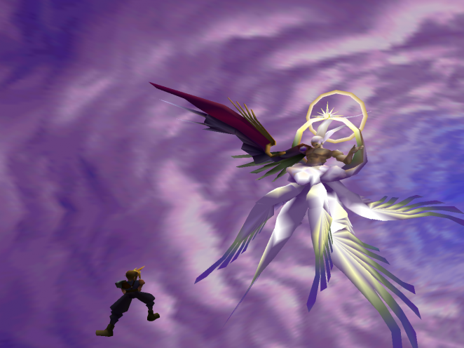 Final Fantasy 7: Sephiroth - hier in seiner finalen Form!