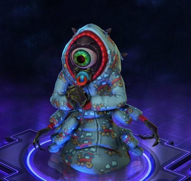 Abathurs Pyjamathur-Skin in Heroes of the Storm