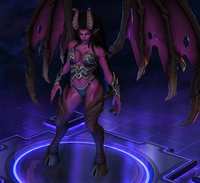 Kerrigans Succubus-Skin in Heroes of the Storm