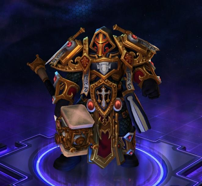 Uthers Richturteil-Skin in Heroes of the Storm
