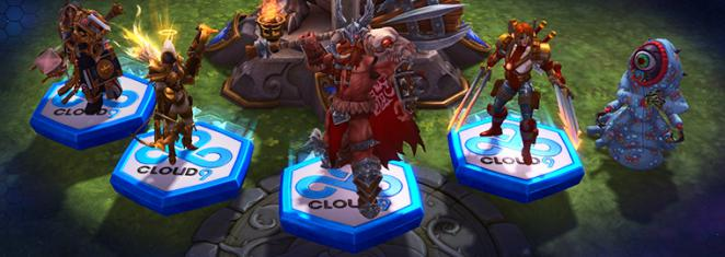 Heroes of the Storm-Mount: Nexagon des Champions 2015