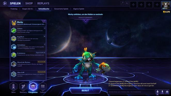 World of Warcraft Legion: Murky im MOBA Heroes of the Storm