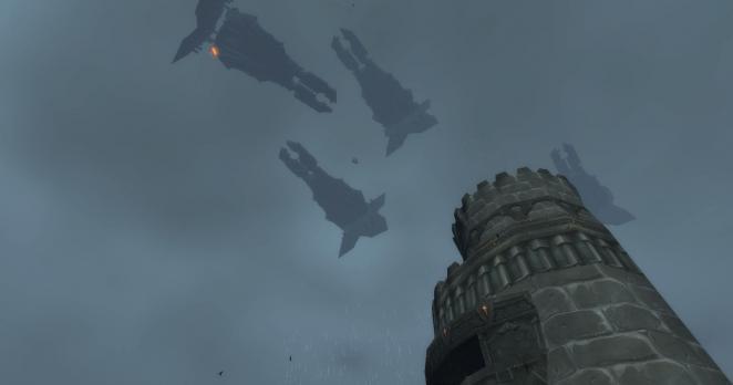 World of Warcraft Legion: Die Raumschiffflotte der Brennenden Legion schwebt im nächsten Add-on über Karazhan. Welche dunklen Geheimnisse schlummern in Medivhs Turm?
