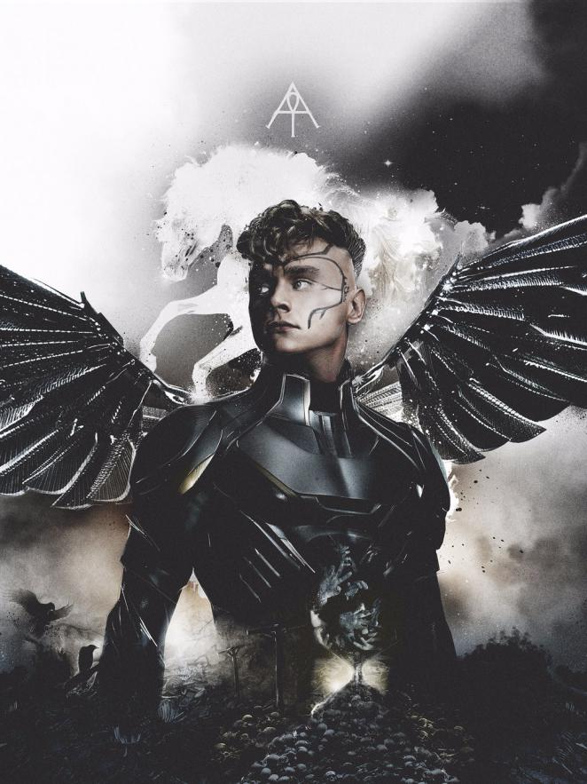 X-Men: Apocalypse - Charakterposter Angel