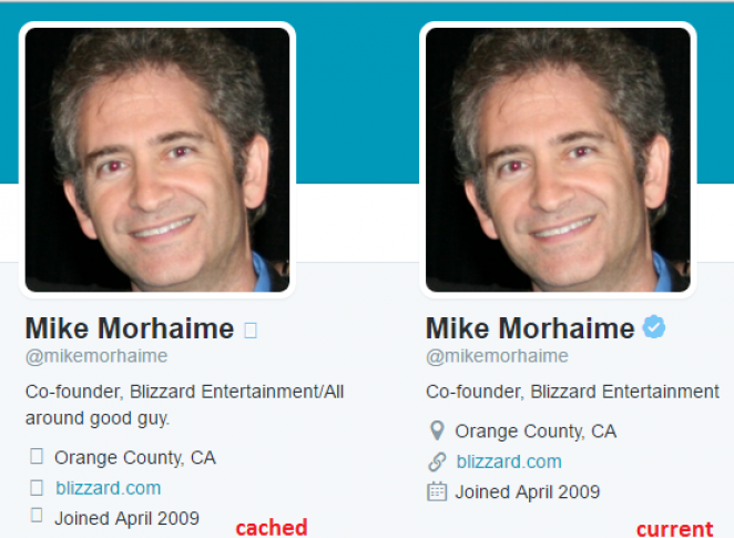 Mike Morhaimes Twitter-Profil.