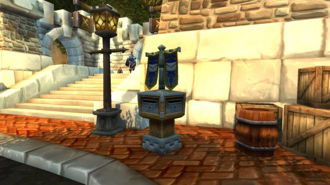 So schaut der Briefkasten in Sturmwind in World of Warcraft aus.