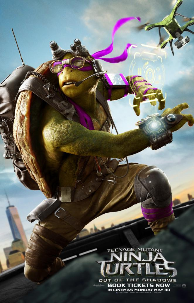 Teenage Mutant Ninja Turtles 2: Donatello - der geniale Technik-Freak