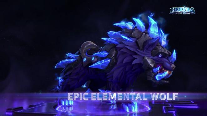 Heroes of the Storm: Epic Elemental Wolf Mount (1)