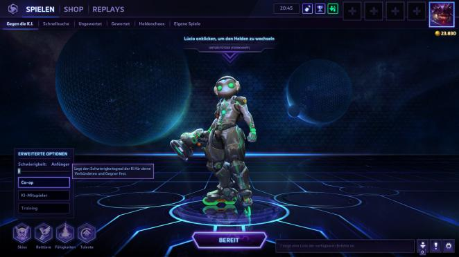 Heroes of the Storm: K.I.-Spiele