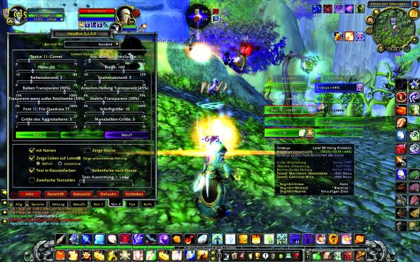 World of Warcraft: Addon-Guide - Healbot