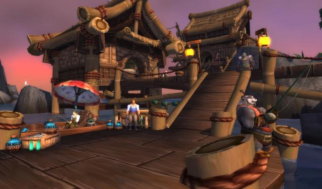 WoW: Mists of Pandaria - die Angler