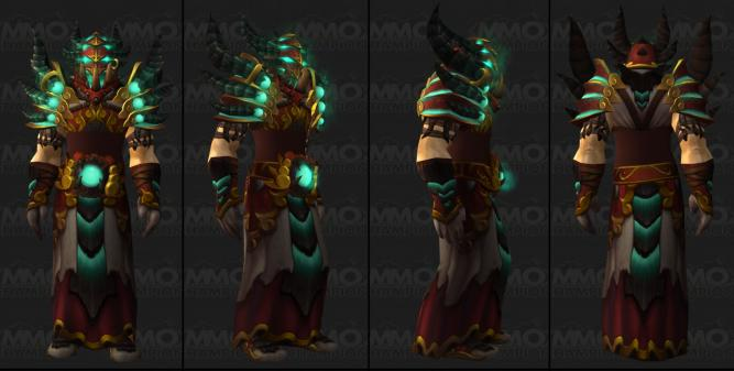 WoW Patch 5.4: Das Tier-16-Set der Hexenmeister (Quelle: MMO-Champion)