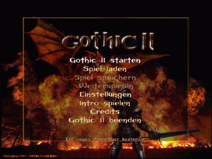 Rollenspielgruft Gothic 2 Meilenstein Der Rollenspielgeschichte