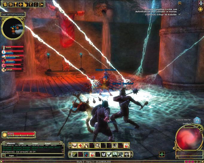 Screenshots aus Dungeons and Dragons Online. (1)
