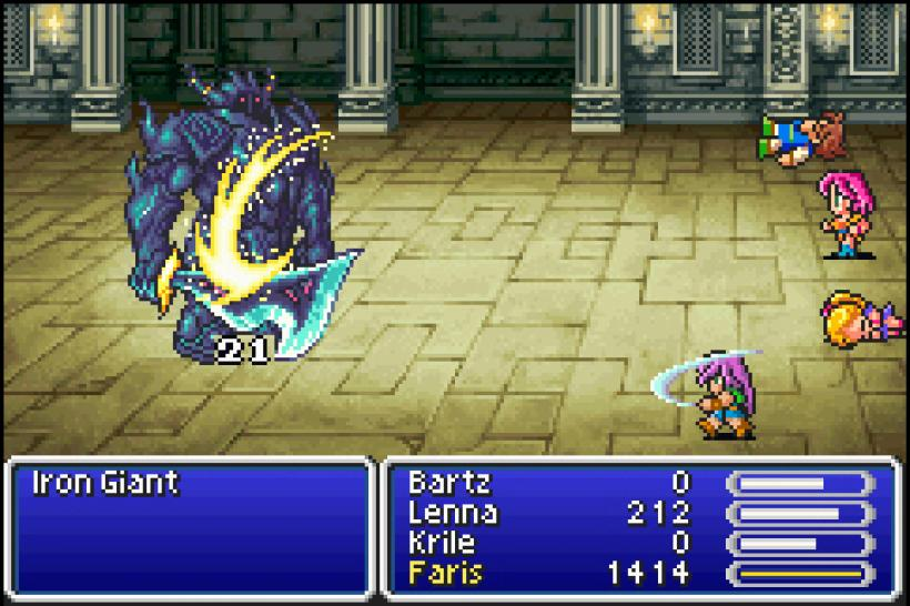 Das Remake von Final Fantasy 5 soll als Download für das PlayStation Network kommen (Screenshots: Final Fantasy V Advance für den Game Boy Advance).