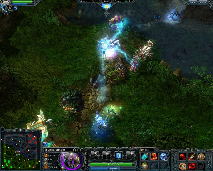 Screenshots zu Heroes of Newerth (1)