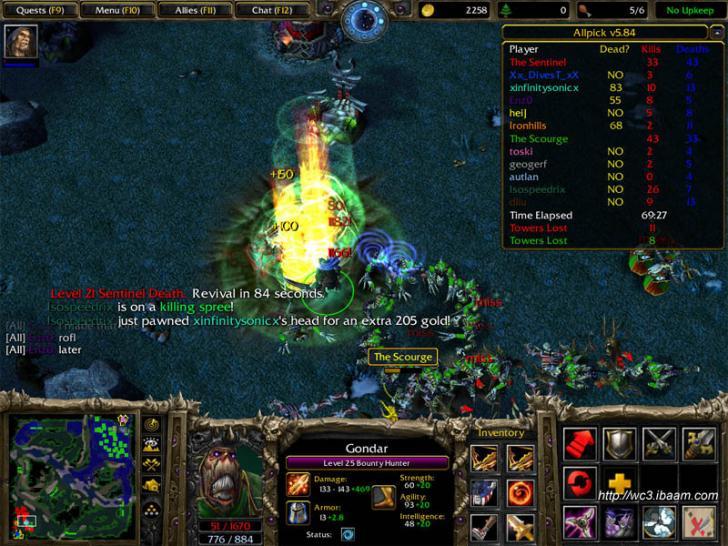 Tópico: Warcraft/b III/b Dota/b - Nova mania.