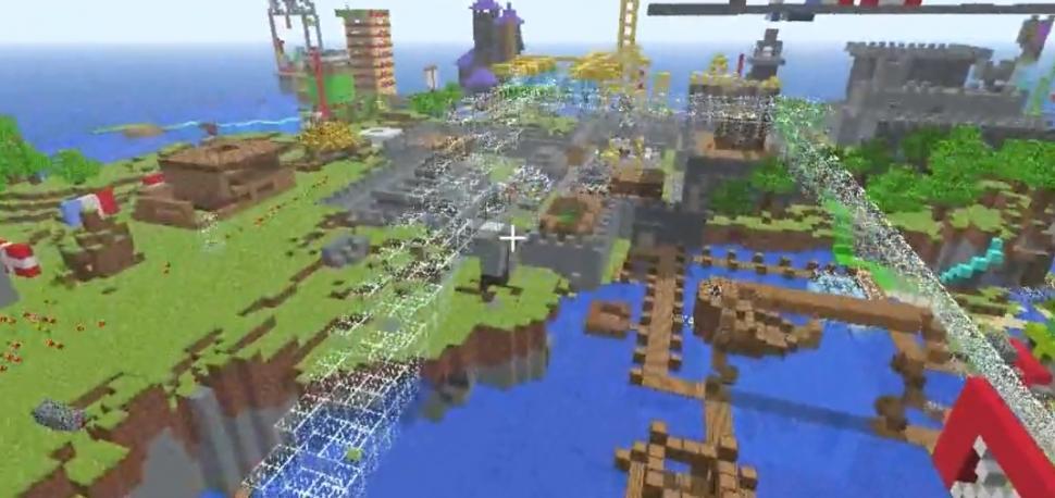 Minecraft Video Zum Update Stellt Den Kolben Vor - Minecraft spiele anschauen