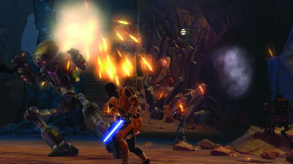 Star Wars The Old Republic Preview Auf Das Jedi Startgebiet Und