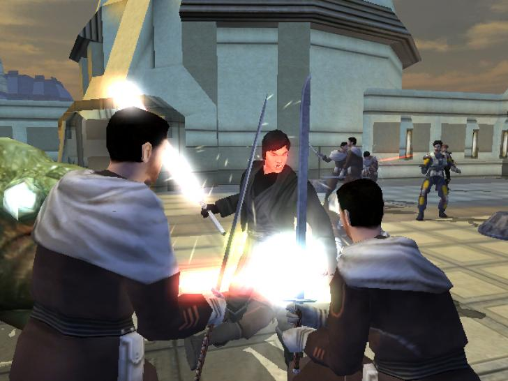 Star Wars: Knights of the Old Republic II - The Sith Lords Описан