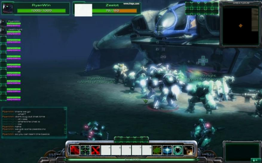 World of Starcraft: Bilder aus dem Pre-Alpha-Trailer (1)