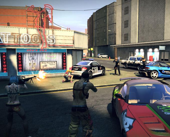 APB Reloaded: Das Interesse am Free2Play-Shooter-MMO ist beträchtlich.