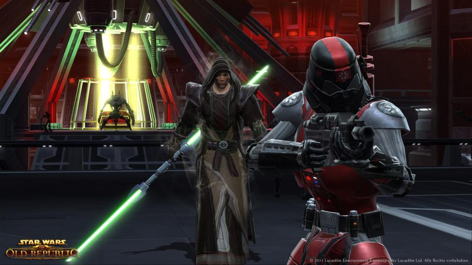 Star Wars: The Old Republic erscheint am 22. Dezember 2011 in Europa. (1)