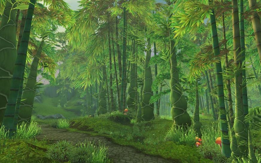 WoW Mists of Pandaria - Jadewälder