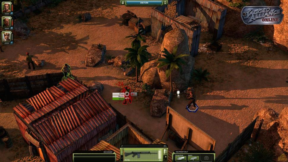 Jagged Alliance Online: Ab sofort in der offenen Beta-Phase. (1)