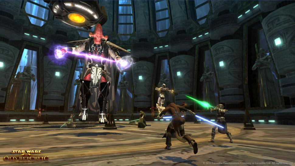 SWTOR: Screenshots aus The Old Republic