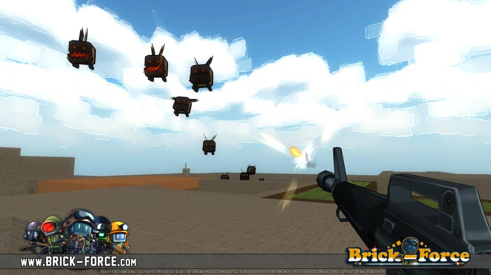 Brick-Force vereint den klassischen Multiplayer-Shooter mit Sandbox-Elementen. (3)