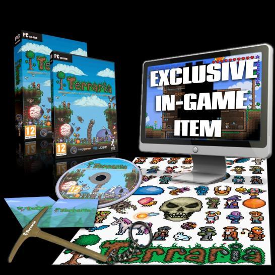 Terraria Boxed Collectors Edition Kommt In Den Handel - Minecraft terraria spielen