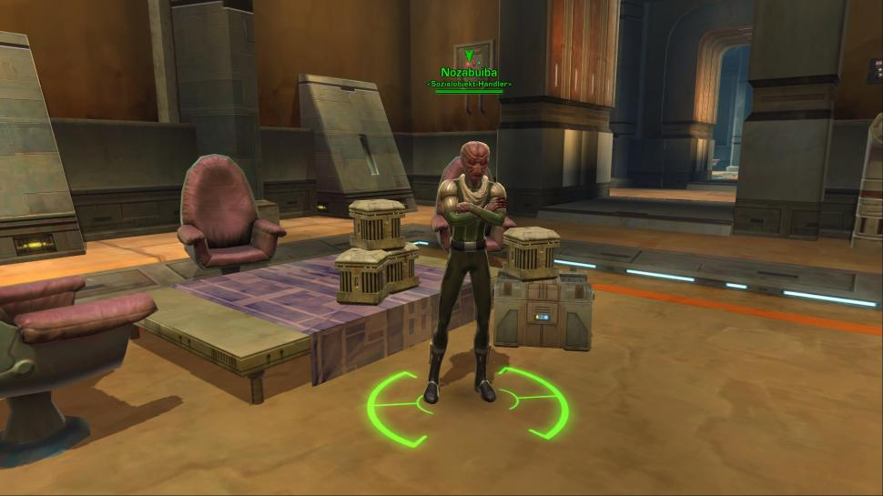 Hier seht Ihr einige Screenshots aus Star Wars: The Old Republic. (1)