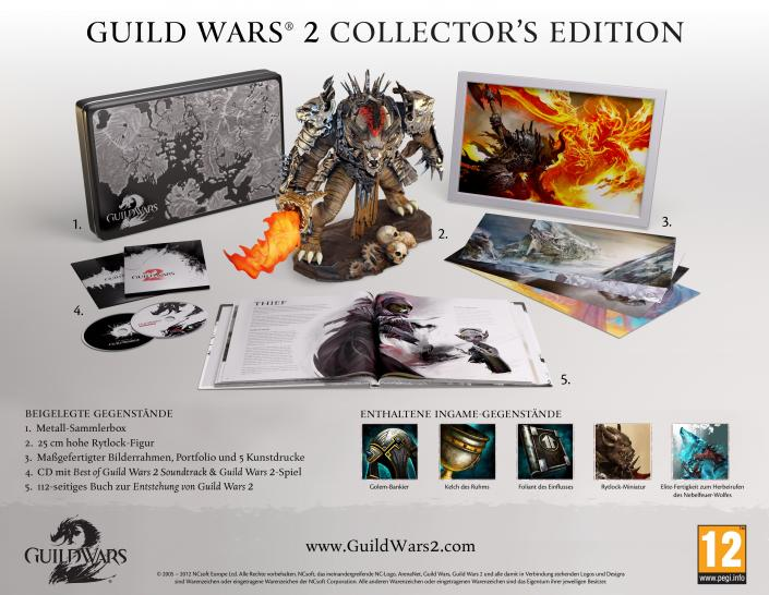 Guild Wars 2: Das enthält die Collector's Edition