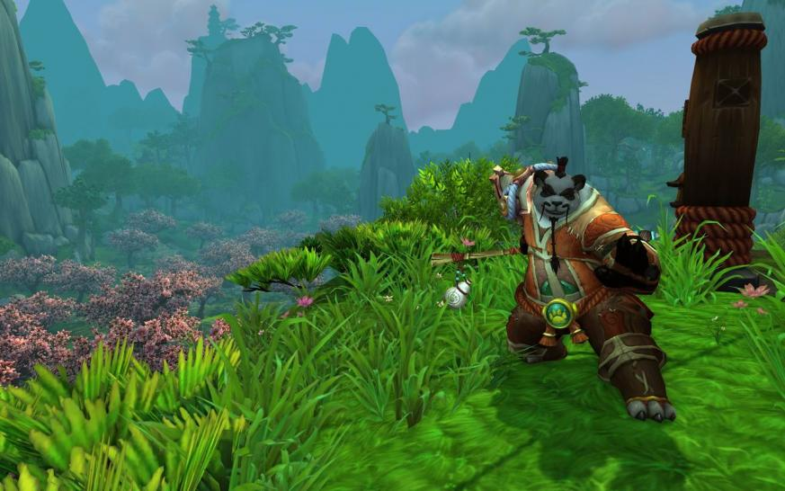 WoW Mists of Pandaria: Pandaren-Emotes im Video (1)