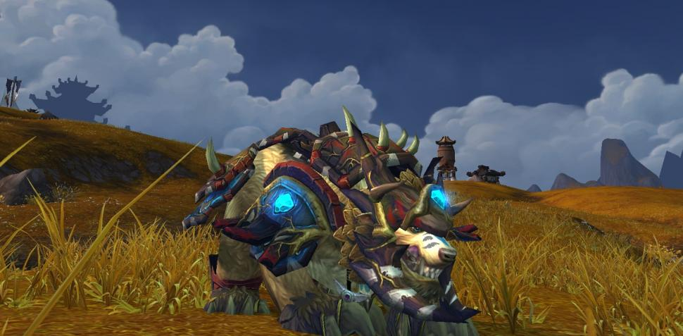 WoW Mists of Pandaria: Inkarnation-Bärenform der Tauren-Druiden