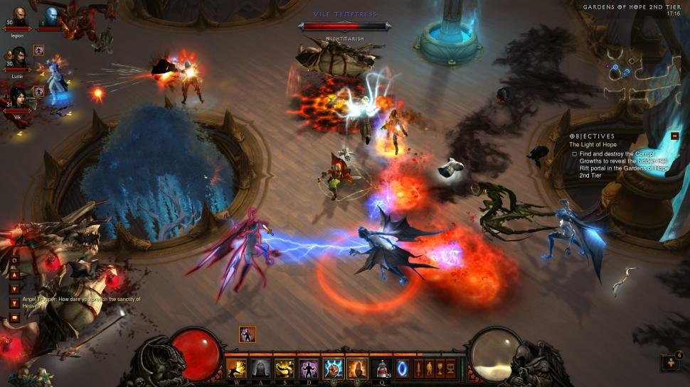 Diablo 3: Screenshots aus Blizzards Action-Rollenspiel