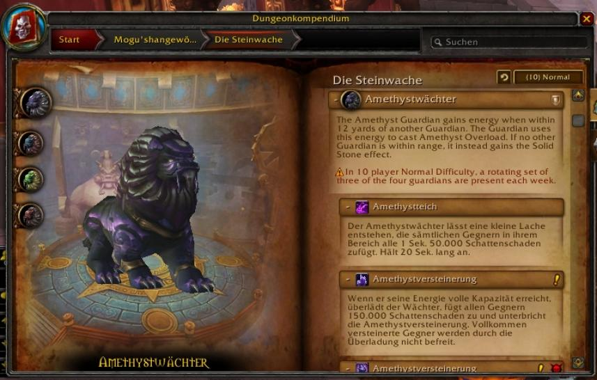 WoW Mists of Pandaria: Die Steinwache