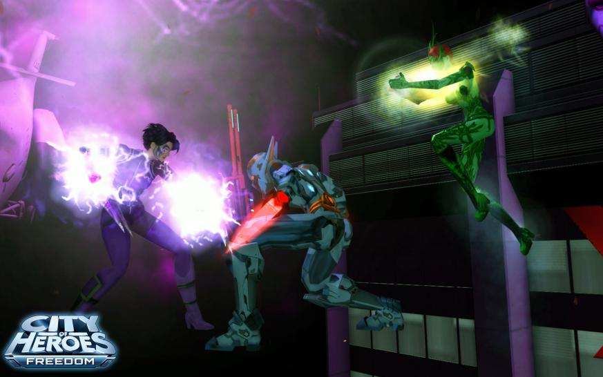 Screenshots zu City of Heroes (1)