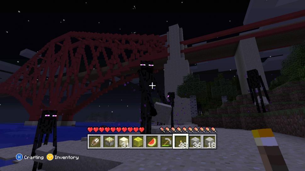 Minecraft XboxVersion Auf Platz Eins Der Meistgespielten Xbox - Minecraft enderman spiele