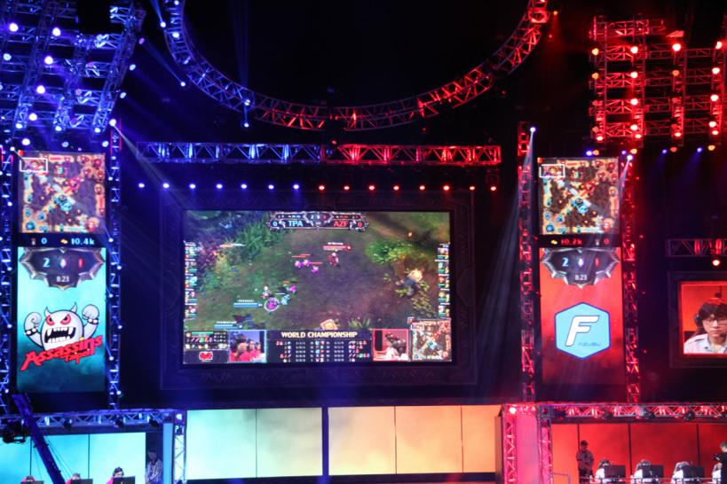 League of Legends: Bilder vom Finale. (1)