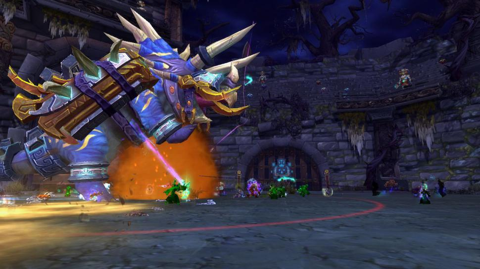 Horridon im WoW-Raid Thron des Donners (1)
