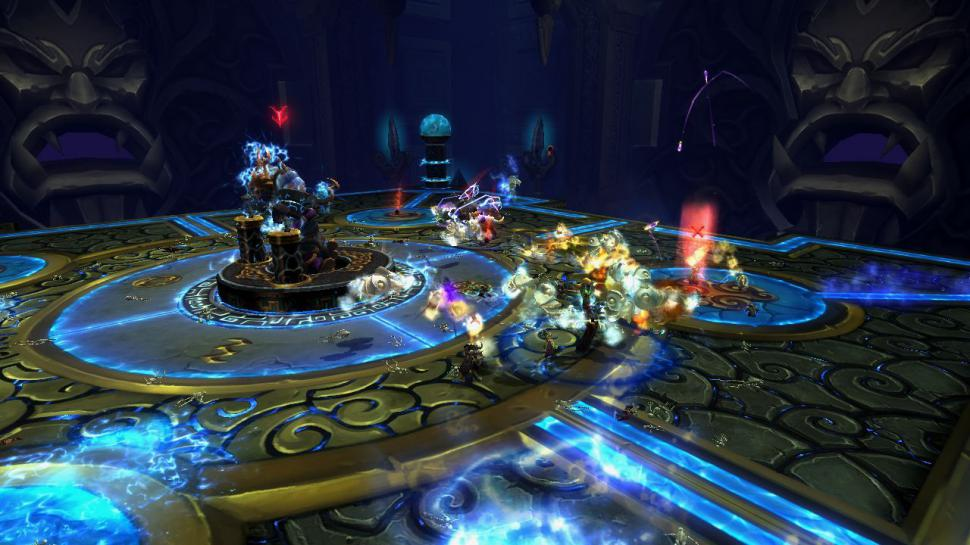 Screenshots aus der Raid-Instanz Thron des Donners aus WoW: Patch 5.2. (1)