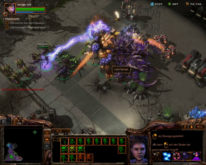 Starcraft 2: Heart of the Swarm (1)