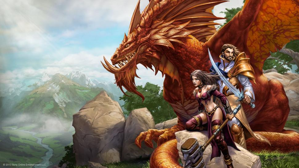 Artworks zu Everquest Next (1)
